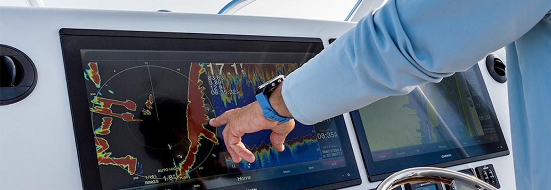 Electrónica VHF, GPS, Sondas,  Plotter y accesorios